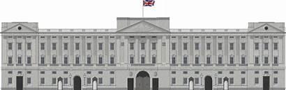 Palace Buckingham Clipart Deviantart Building Cartoon Transparent