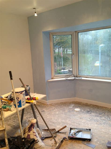 dulux mineral mist   bay frosted dawn   walls