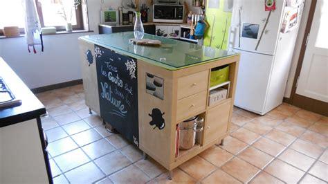 fabriquer ilot central cuisine fabriquer un ilot de cuisine pas cher ilot bar cuisine