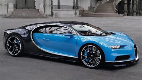2017 Bugatti Chiron Revealed