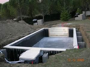 Prix Pose Liner Piscine 8x4 : ma piscine desjoyaux 8 x 4 escalier roman piscines r alisations ~ Dode.kayakingforconservation.com Idées de Décoration