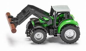 Mini Traktor Mit Frontlader : traktor mit baumstammgreifer ~ Kayakingforconservation.com Haus und Dekorationen