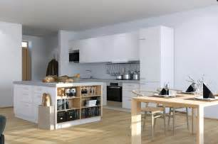 studio kitchen ideas scandinavian studio apartment kitchen with open plan dining and storage island interior