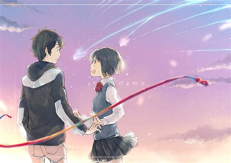 Anime Your Name Kimi No Na Wa Link 2016 Random Thoughts Kimi No Na Wa Your Name Image 2036623 Zerochan