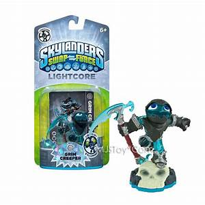 New Skylanders Swap Force Lightcore Grim Creeper Figure