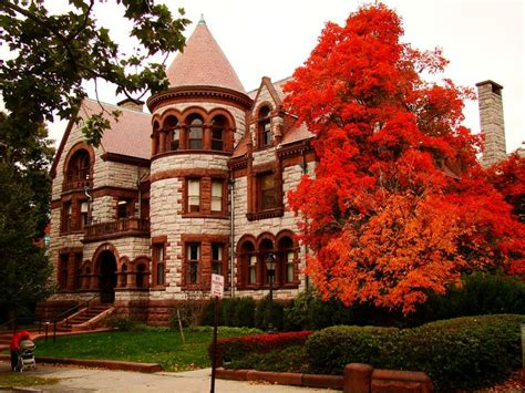gorgeous   fall foliage  college campuses