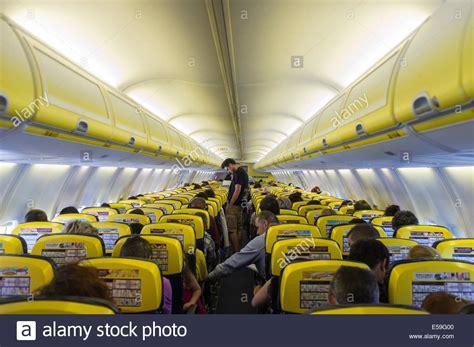 boeing 737 cabin ryanair boeing 737 800 cabin interior stock photo