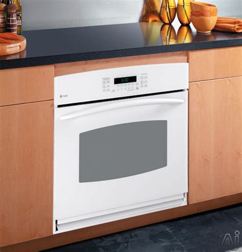 ge ptbmbb  single electric wall oven   cu ft  clean convection oven hidden