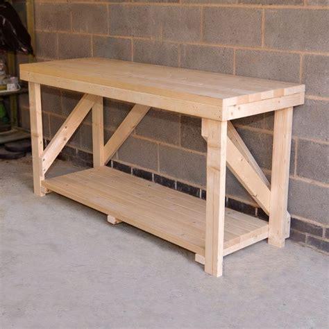 details  wooden work bench heavy duty hand
