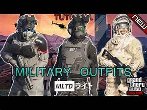 *NEW* TOP 3 TRYHARD/MILITARY OUTFITS | DOOMSDAY HEIST 1.42 | GTA Online | Not modded - YouTube