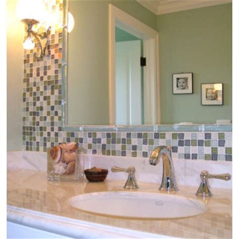 Tiled Bathroom Mirrors by 1000 Ideas About Tile Around Mirror On