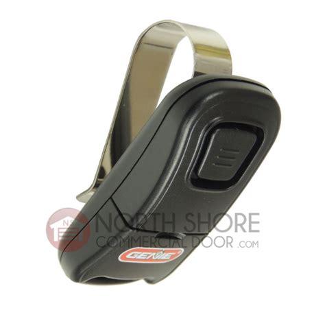 genie garage door opener remote genie 38501r intellicode 1 button remote g1t bx