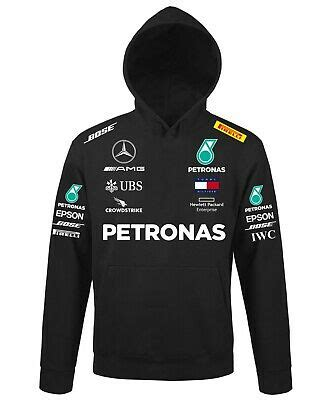 Show your support for lewis hamilton valtteri bottas free uk delivery 195mph.com. Hoodie Petronas Mercedes AMG Team Replica Racing Car f1 | eBay