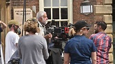 Director Mike Leigh filming Peterloo in Lincoln today