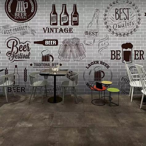 personalizado  mural papel de parede de tijolo cimento