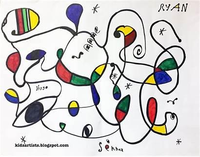 Joan Artwork Miro Artists Lessons Groupwork Miro