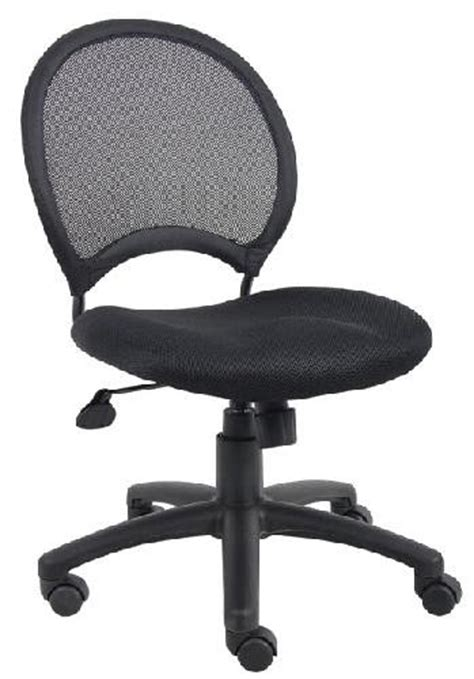 mesh task chair no arms