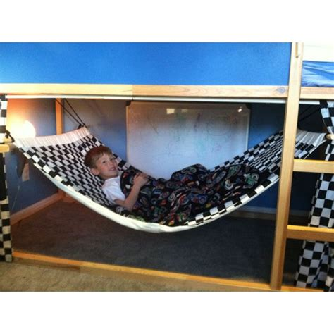 Bunk Bed Hammock by Made Bunk Bed Hammock Made With That Ikea Bunk