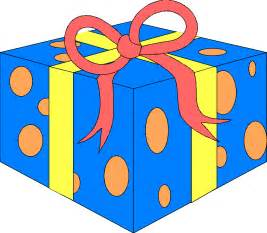 Wrapped Birthday Presents Clip Art