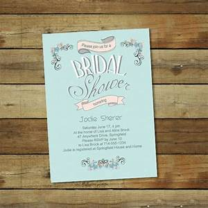 bridal shower invitations bridal shower invitations With free online wedding shower invitations
