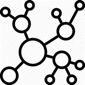 Concept Map  Diagram  Network Icon