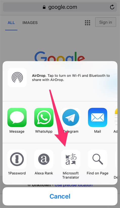 how to translate a page on iphone how to translate webpages in safari on iphone or