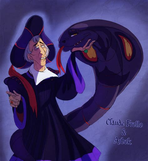 Claude Frollo And His Arbok Who Matches His Clothz By