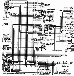 1971 C 10 Fuse Box Diagram