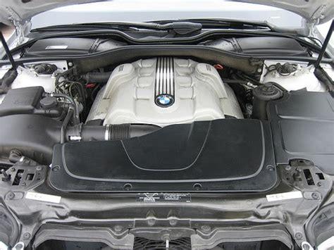 2002 Bmw 745 Li V8 Engine Bay Pic  Auto Car Joss