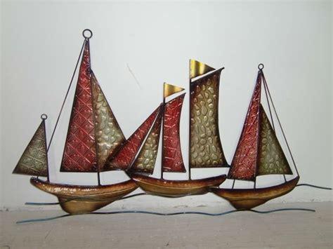 sailboat wall decor metal bateau d 233 coration murale autres d 233 cors maison id de