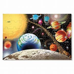Solar System 48 pc Floor Puzzle - Educational Toys Planet