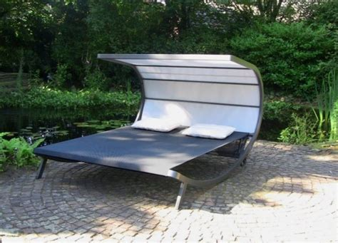 Leco Garten Sonnenliege Davana Doppelliege Liege