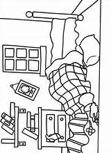 Coloring Pages Room Mr Bedroom Messy Printable Litltle Miss Furniture Print Coloriage Template Fun Getcolorings Colori Kleurplaten Worksheets Preschool sketch template