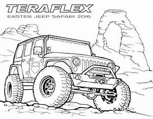 Coloring Jeep Collection Printable Coloring Pages