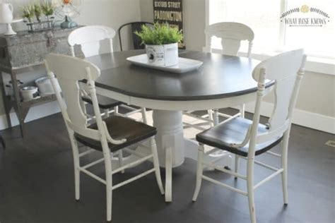 colors paint kitchen table painted furniture ideas 6 great paint colors for kitchen tables painted furniture ideas