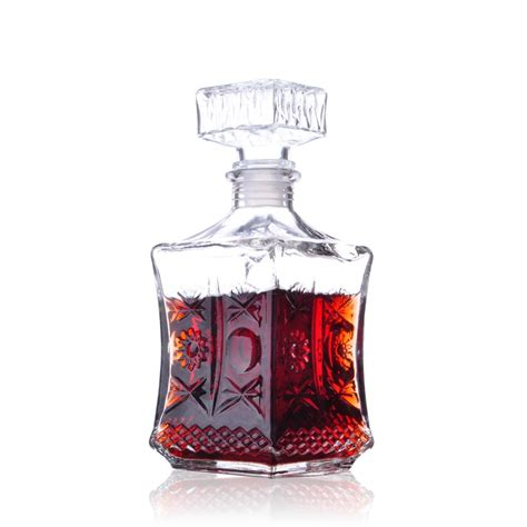 Whiskey Glas Kristall by 750ml Wine Decanter Pourer Wine Whisky Bottle