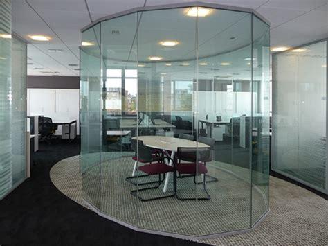 bureau vitre aménagement cloison de bureau cloison amovible bureau