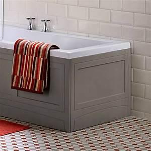 Noble, Classic, Wooden, End, Bath, Panel