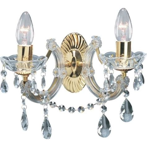 searchlight marie therese classic twin wall light in