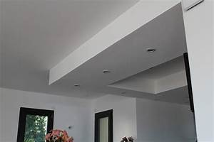 Faux Plafond Placo : travaux d 39 am nagement ikhlas decor ~ Dallasstarsshop.com Idées de Décoration