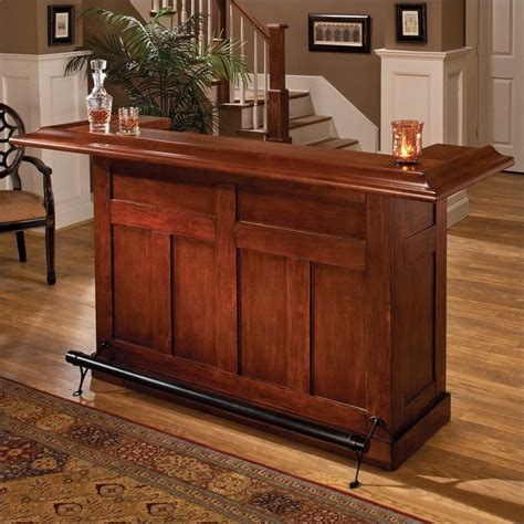 Home Bar Furniture Canada by Hillsdale Classic Wooden Home Bar In Warm Cherry 62578ache