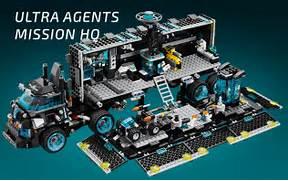 Products - Ultra Agents LEGO com  Lego Ultra Agents Mission Hq