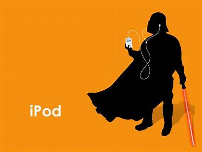 Ipod Wallpapers Cool Wars Star Listening Background