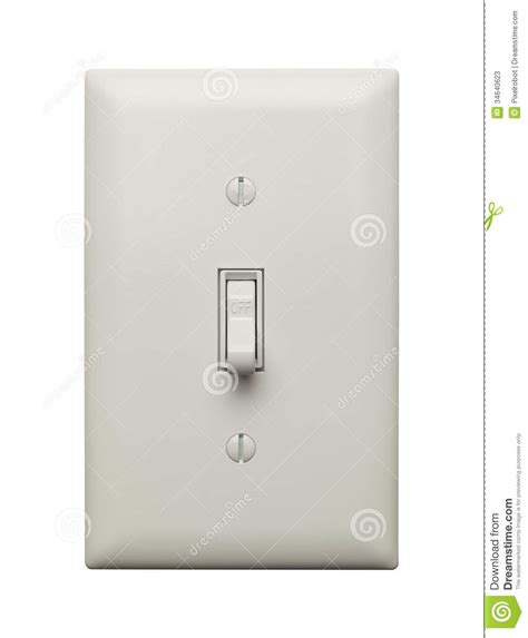 on off light switch off switch stock photos image 34640623