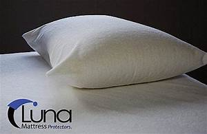 Luna bed bug pillow protector for Bed bug mattress and pillow protectors