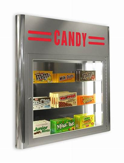 Candy Case Display Royal Theater Concession Displays