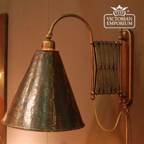 extendable brass wall light interior wall lights
