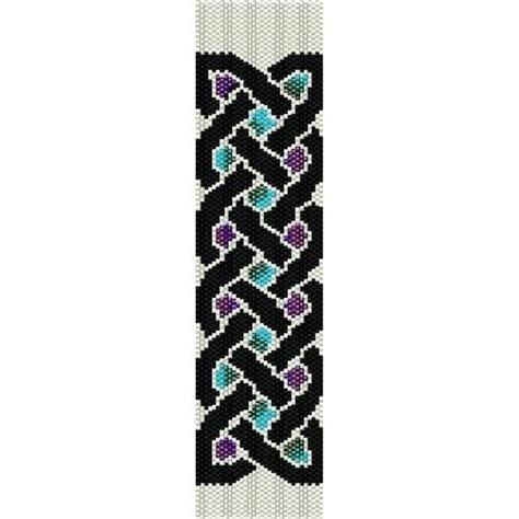 bead loom designs instant beading pattern peyote stitch bracelet celtic
