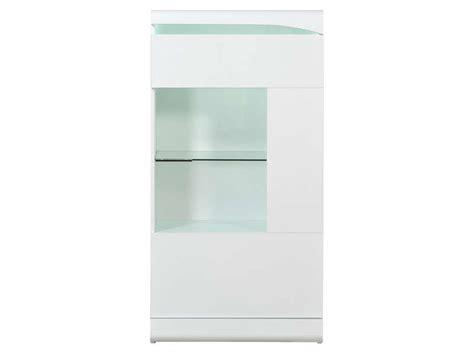 canapé en soldes colonne 1 porte ovio coloris blanc laqué vente de buffet bahut vaisselier conforama