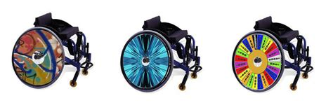 personalize  wheelchair  coolhubcaps